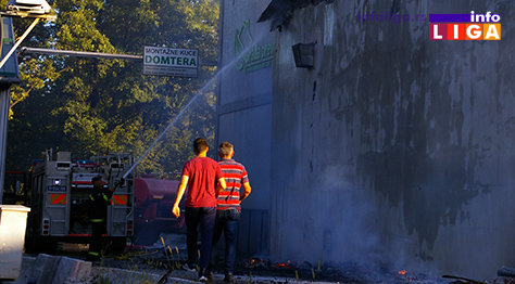 IL-domtera-pozar3 Požar na Grabovici u objektima za obradu drveta