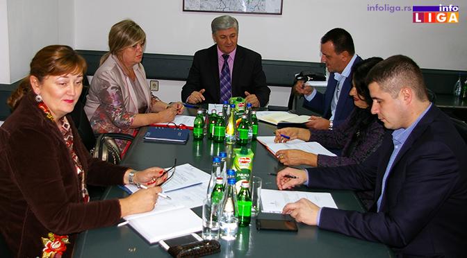 U Ivanjici održana sednica Saveta Moravičkog upravnog okruga