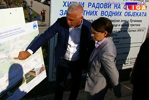 "IL-lucani-brnabic-bedem Premijerka i ministar odbrane u poseti preduzeću ""Milan Blagojević"" Lučani"