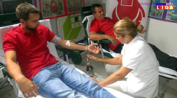 """Humani radnici """"MATIS"""" d.o.o. dali 45 jedinica krvi"""