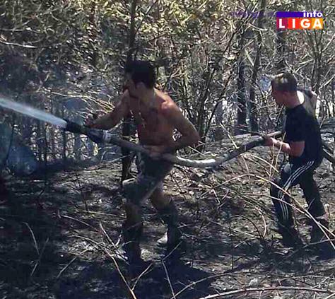 IL-mestani-gasili-pozar2 Hrabri momci spasili od vatre svoja ognjišta (VIDEO)