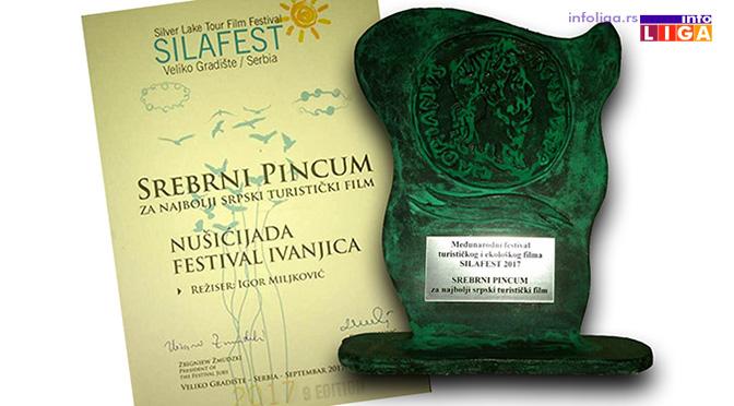 Srebrni Pincum za promo film Nušićijade (VIDEO)
