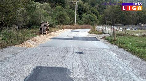 IL-osonica-udarne-rupe Osonica – sanacija udarnih rupa i klizišta, otvoren novi most za Boškoviće