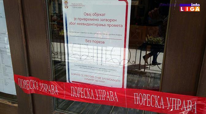 Poreski inspektori zatvorili pet ugostiteljskih objekata