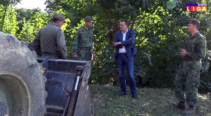 Finalna faza rekonstrukcije puteva u saradnji sa Vojskom Srbije (VIDEO)
