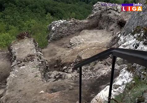 IL-zamak-gradina7 Zamak na Gradini - Arheološka istraživanja pri kraju – počinje preventivna konzervacija (VIDEO)