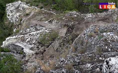 IL-zamak-gradina8 Zamak na Gradini - Arheološka istraživanja pri kraju – počinje preventivna konzervacija (VIDEO)