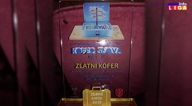 """""""Zlatni kofer"""" za brošuru festivala Nušićijada"""