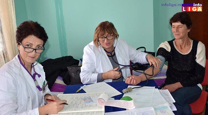 Besplatan pregled za stanovnike ruralnog područja Lučana i Guče