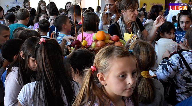 Sajam zdrave hrane u OŠ Kirilo Savić u Crnjevu