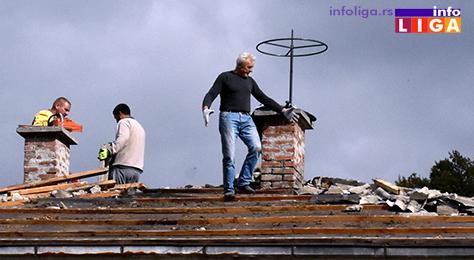IL-dz-prepokrivanje3 Novi krovovi na objektima Doma zdravlja u Ivanjici