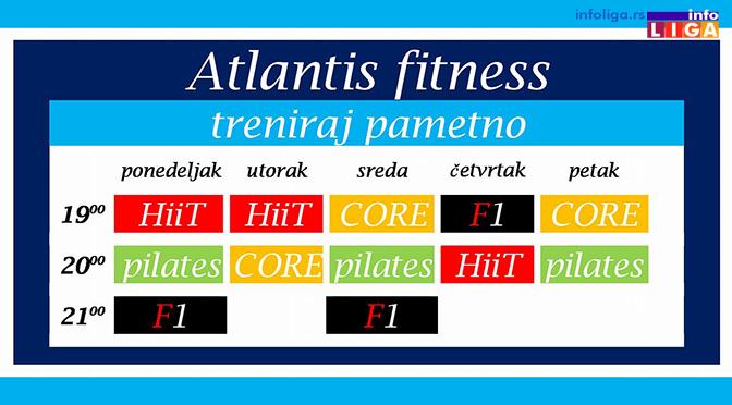 KZM Ivanjica dodeljuje propusnice za fitnes studio Atlantis