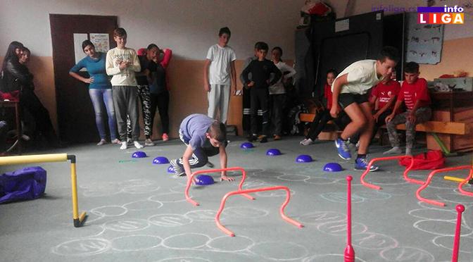 Zanimljiv sportski poligon za decu u Međurečju