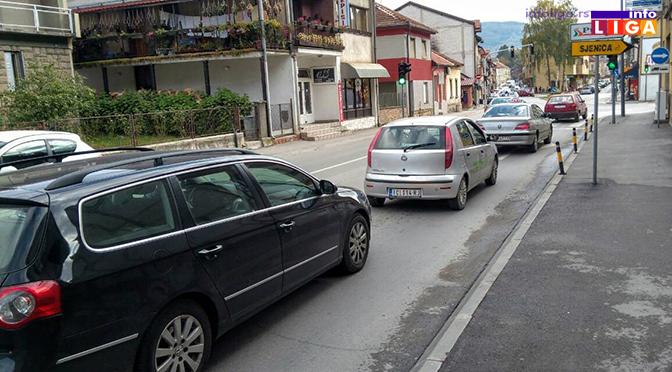 Novi semafori prave redove na ulazu u grad