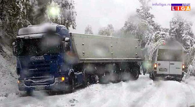 Pao sneg – Neprohodan put Ivanjica – Preko Brdo