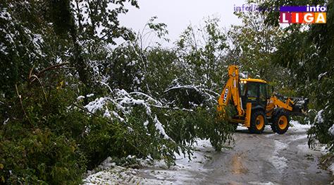 IL-sneg-masina-ciscenje Na Goliji i dalje 1000 domaćinstava bez struje