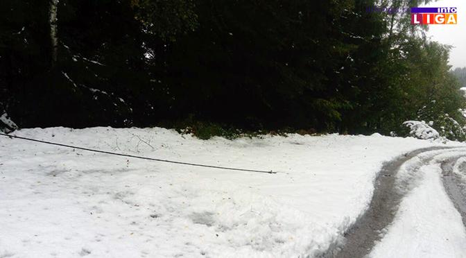 IL-sneg-pali-kablovi Osonica i Luke zbog snega bez struje