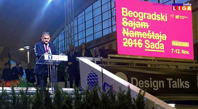 Vlasnik ivanjičke kompanije Matis GROUP otvorio Beogradski sajam nameštaja