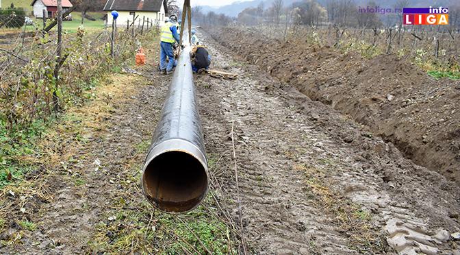 Počeli radovi na izgradnji gasovoda Arilje-Ivanjica