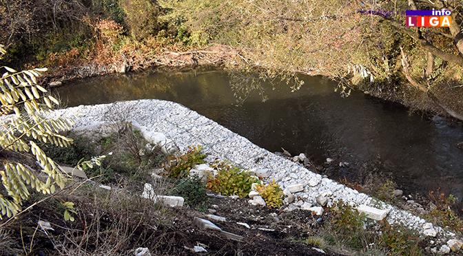 Počelo uređenje obaloutvrda kod gradskog groblja i iznad brane