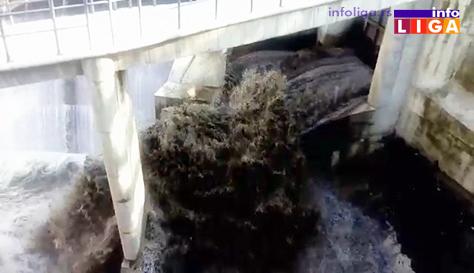 IL-pustena-brana Počelo uređenje obaloutvrda kod gradskog groblja i iznad brane