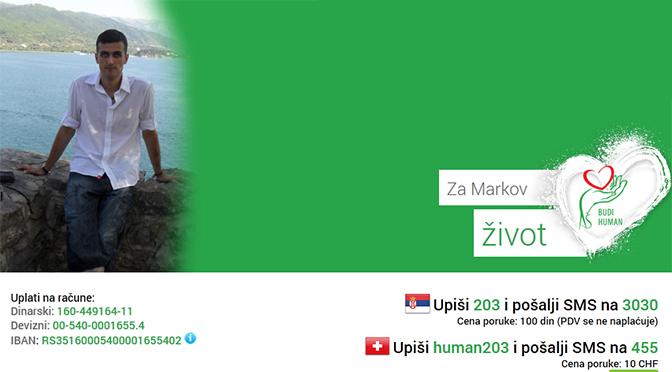 za-marka-sapic-2 Humanitarni rock'n'roll koncert za Markov život