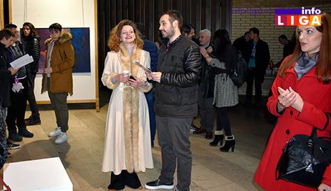 IL-izlozba-arora-pivljakovic-2 Aurorini portreti privukli veliku pažnju Ivanjičana