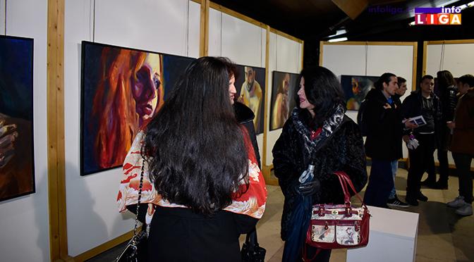 Aurorini portreti privukli veliku pažnju Ivanjičana