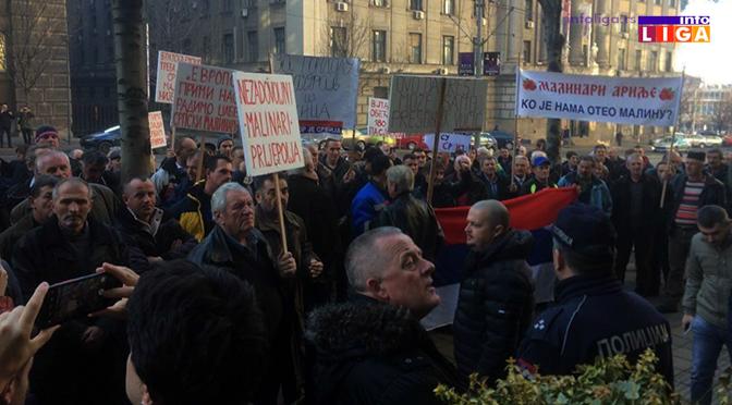 Epilog današnjeg protesta malinara – sastanak sa Vladom i hladnjačarima 25. januara