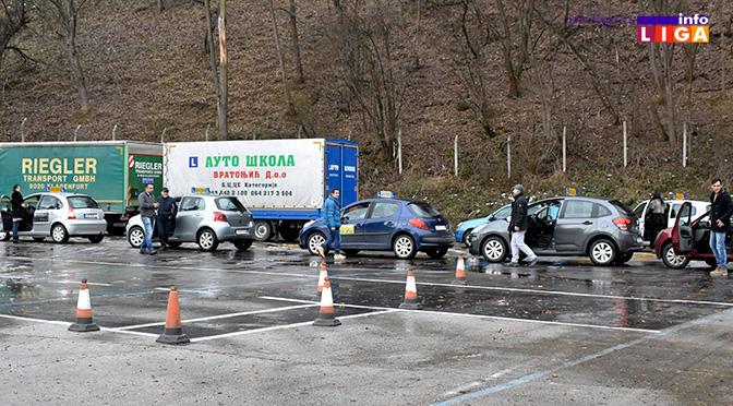 Štrajk auto škola u Ivanjici (VIDEO)