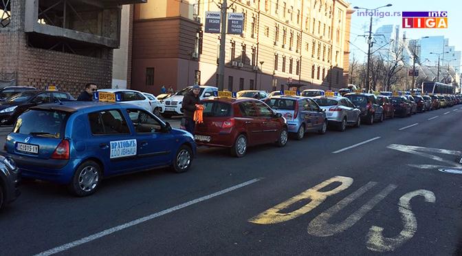 Ivanjičani štrajkovali u Beogradu