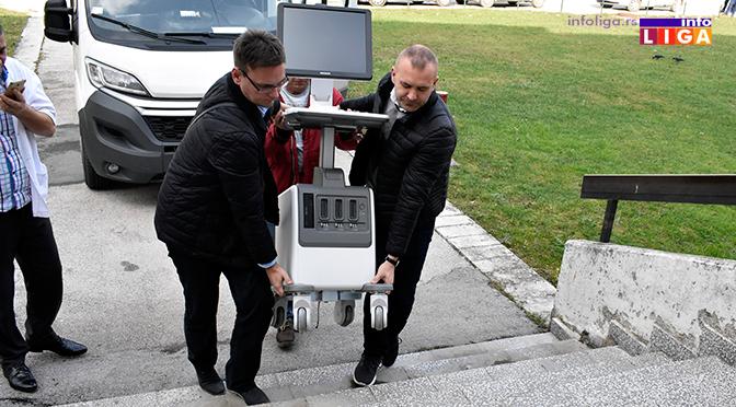 Dom zdravlja u Ivanjici dobio savremeni ultrazvučni aprat