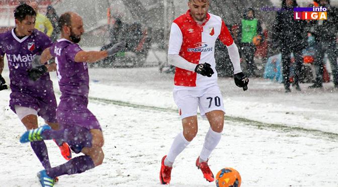 Sneg u Novom Sadu doneo tri gola u mrežu Vojodine