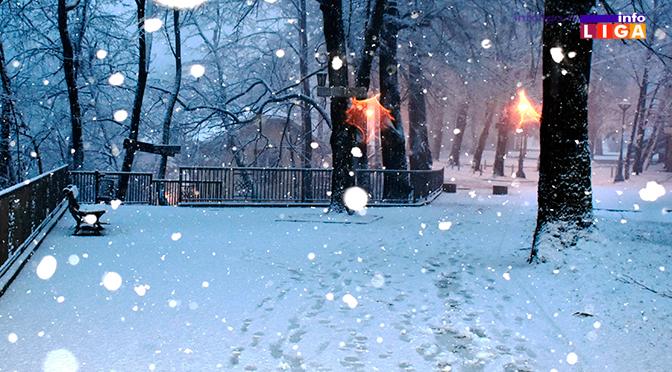 Lepša strana snežnih padavina u Ivanjici (FOTO)