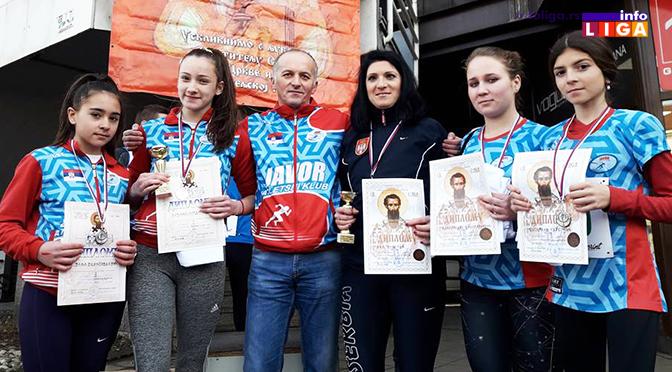 Pobeda Ane Subotić i pet medalja za AK Javor u Valjevu