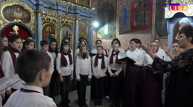 Svetosavski dan duhovne muzike u ivanjičkoj crkvi (VIDEO)