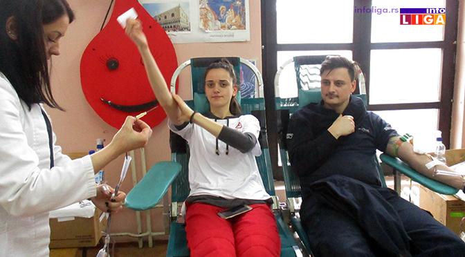 Ivanjičani prikupili 132 jedinice krvi