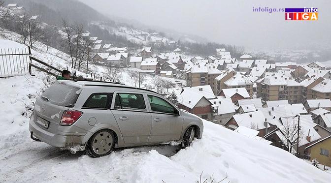 Apel: Ledeni dani ugrožavaju bezbednost – oprezno!