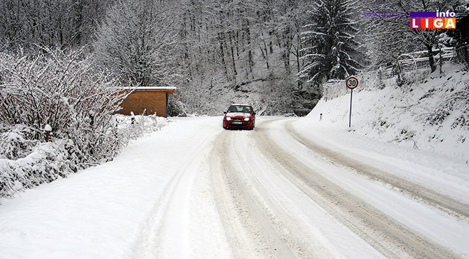 Sneg, led i minus – Oprez za volanom!