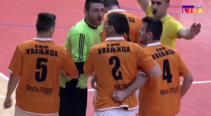 KMF Ivanjica deklasirala goste iz Vranja 9-0 (VIDEO)