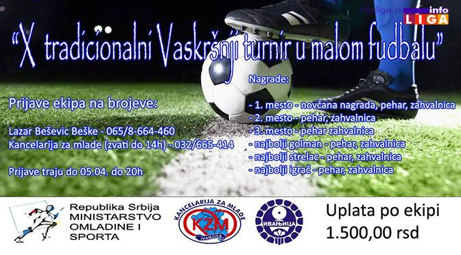 Vasršnji turnir u malom fudbalu na mini-pič terenu