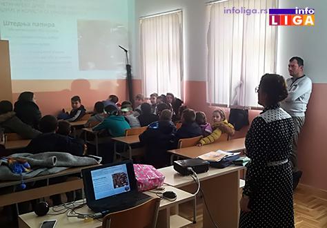 IL-reciklaza-predavanje2 Edukacija najmlađih o sistemu upravljanja otpadom