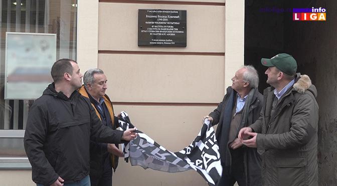 Otkrivena spomen ploča Vladici Kovačeviću u Ivanjici (VIDEO)