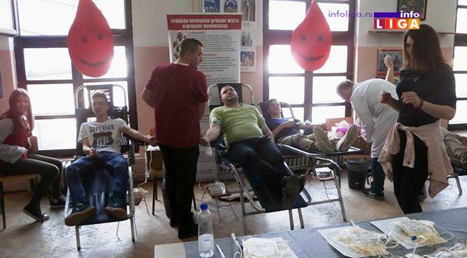 Uspešna akcija dobrovoljnog davanja krvi u Ivanjici