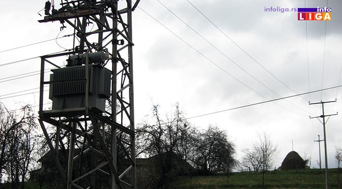 IL-dalekovod-struja-bez Raspored isključenja struje zbog redovnog remonta trafostanica u Ivanjici