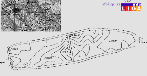 IL-ercege-gradina-mapa Da li je Gradina u Erčegama grad Hercega Stjepana?