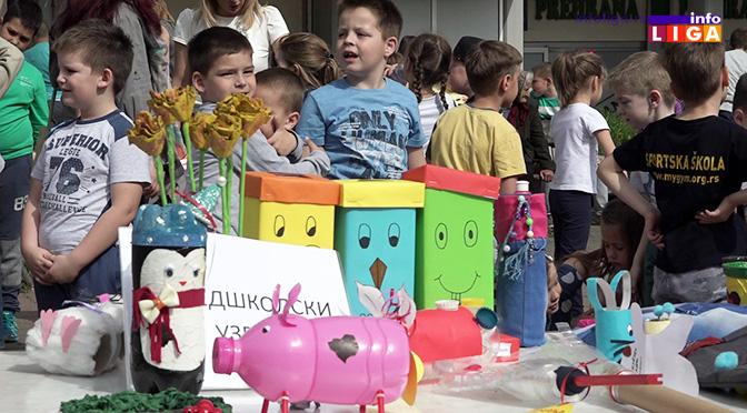 """Nagrađeni mališani na konkursu """"RECIKLIRAJ, ZABAVI SE…"""" (VIDEO)"""