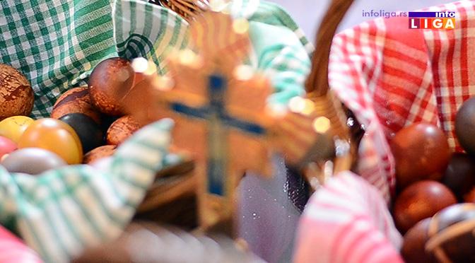 Vaskrs obeležen i u ivanjičkoj crkvi (VIDEO)