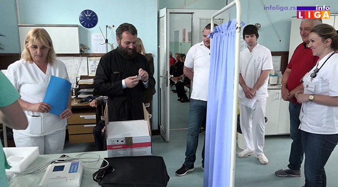 Dobri samarjani donirali mobilni EKG ivanjičkoj Hitnoj službi (VIDEO)