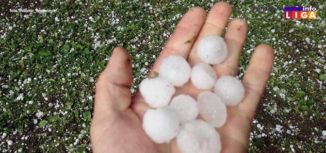 IL-grad-arilje-m-sretenovic-e1558286321204 Nevreme u Ivanjici - Grad i jaka kiša uništili malinjake i lokalne puteve (VIDEO)